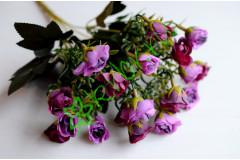 Букет розочек мини Ривьера фиолетовый, шт