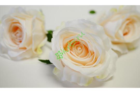 Бутон розы Нефертити малый кремовый, шт