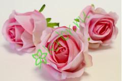Бутон розы Рандеву розовый, шт