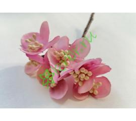 Букетик декоративный розовый