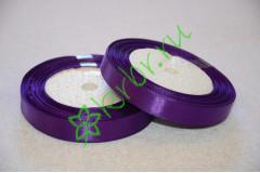Лента атласная Фиолетовая 12 мм, метр