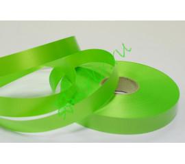 Лента полипропилен простая зеленое яблоко, 5 м
