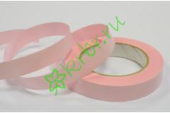 Лента полипропилен Полоски розовая, 3 м