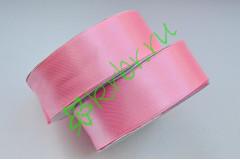 Лента атласная (8037) розовая 25 мм, метр