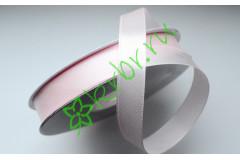 Лента атласная нежно-розовая 12 мм, метр