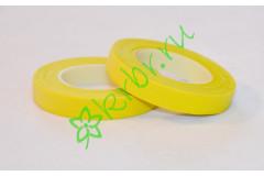 Тейп лента флористическая желтая
