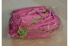 Рафия натуральная розовая