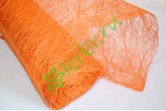 Сизалевое полотно оранжевое, метр