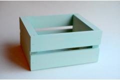 Ящик для цветов и подарков Dallas, мятный