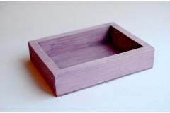 Ящик декоративный универсальный 15х20х4,5 см, сиреневый