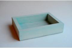 Ящик декоративный универсальный 15х20х4,5 см, мятный