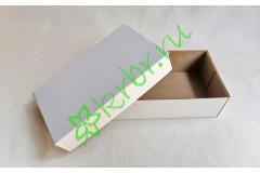 Подарочная коробка кр/дно БЕЛАЯ 10х17х5 см, шт