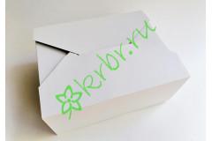 Подарочная коробка Белая Конверт 27х22х11 см, шт