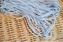 Шнур шелковый голубой 3 мм, метр