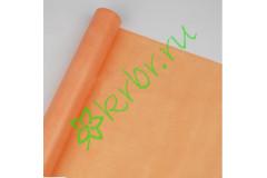 Фетр флористический светло-оранжевый, м