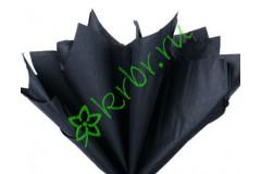 Бумага тишью Черный, лист 50х66 см