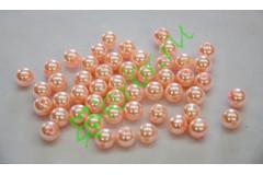 Бусины персиковые 10 мм