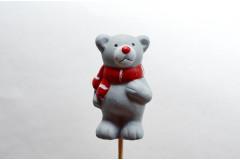 Вставка Медвежонок серый, шт