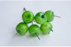 Яблочки зеленые на проволоке в связке