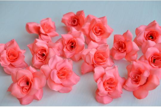Бутон розы Джесси коралл, шт