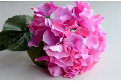 Соцветие гортензии на стебле Бриони розовый, шт