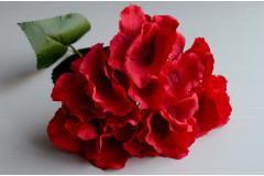 Соцветие гортензии на стебле Бриони красный, шт