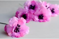 Цветок на ножке Зефир черничный, шт