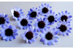 Бутон ромашки Ясная поляна бело-голубой, шт