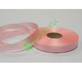 Лента полипропилен простая светло-розовая, 5 м