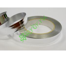 Лента полипропилен металлик серебро, 3 м