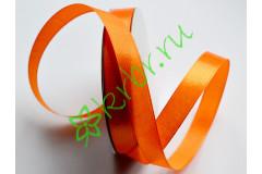 Лента атласная  (8020) Оранжевая 12 мм, метр