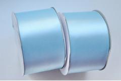 Лента атласная (8098) светло-голубая 50 мм, метр