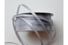 Лента атласная (8139) серебристо-серый 3 мм, 3 м