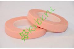 Тейп лента флористическая розовая